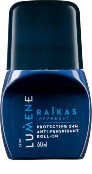 Lumene Men Raikas [Refresh] anti-perspirant protector cu rolă 24 de ore